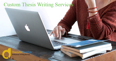 PhD Thesis Writing Services Online