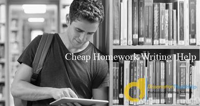 Cheap Homework Writing Services