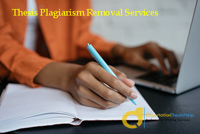 Thesis Plagiarism Removal Help