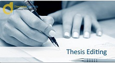 Professional Thesis Editing Services