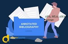MLA Annotated Bibliography Writing Help