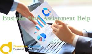 Business statistics assignment services