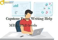 Capstone Evaluation Writing help