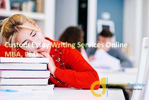 Custom Essay Writing Services Online