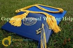 MBA Capstone Proposal Writing Help