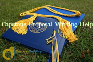 Custom Capstone Proposal Writing Help Service