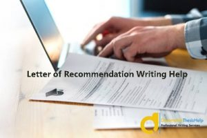 LOR Writing Help