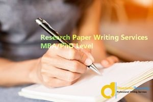 MBA Research Paper Writing Services