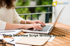 Thesis Script Writing Services